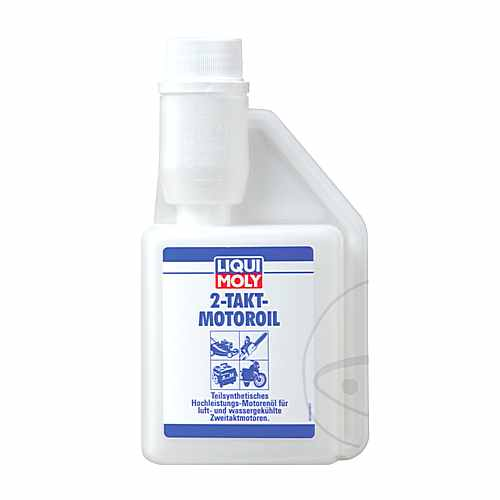 Oil 2T-Self mixing 0.25 Liter Liqui Moly  For Yamaha 558.83.97