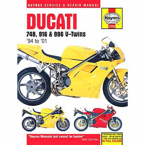 Haynes Repair Manual  For Ducati 702.51.42