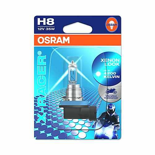 Lampe H8 12V 35 Watt Pgj 19-1 X- Racer  For Gilera 706.01.28