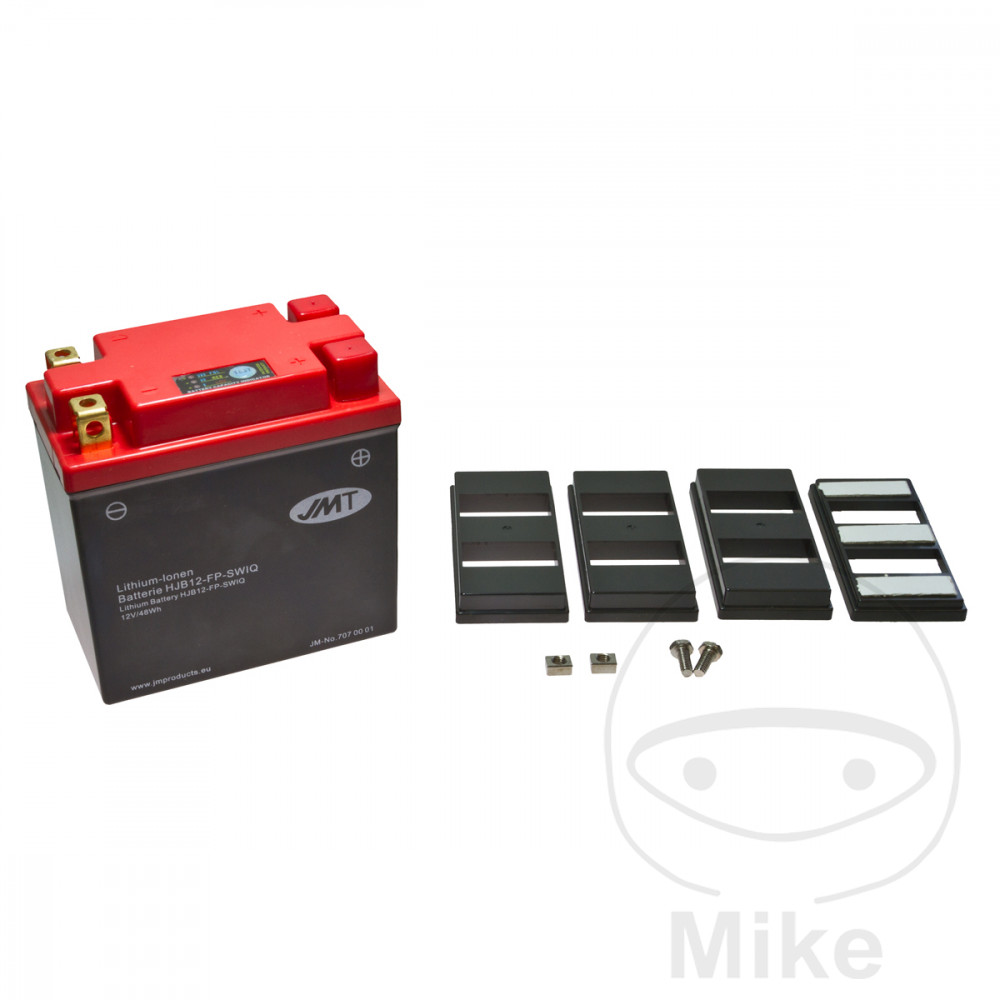 Battery Motorcycle Yb12-Fp JMT Lithium Ion Battery  For Malaguti 707.00.01