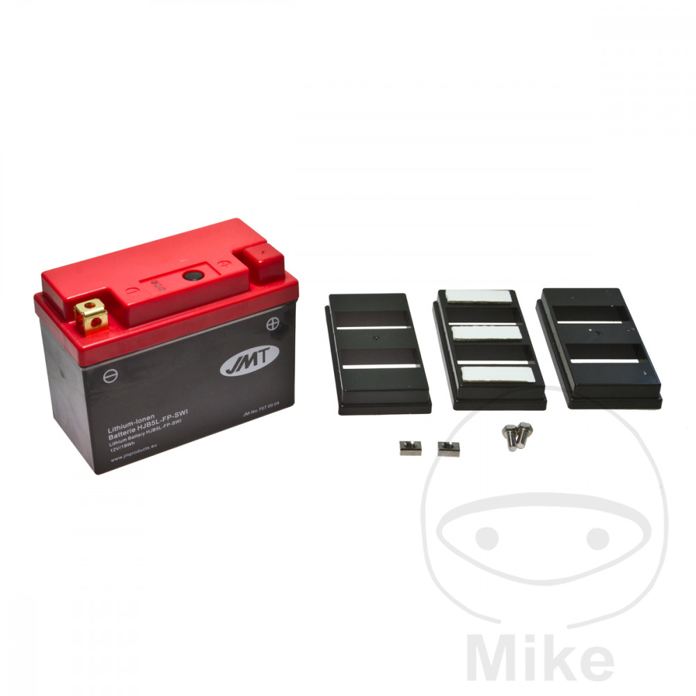 Battery Motorcycle Yb5L-Fp JMT Lithium Ion Battery  For Derbi 707.00.04