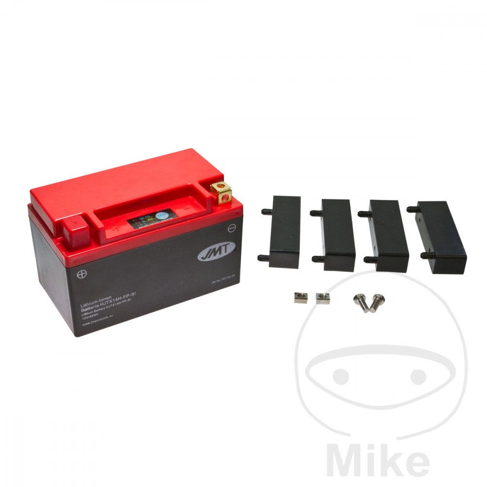 Battery Motorcycle Ytx14H-Fp JMT Lithium Ion Battery For Bombardier 707.00.29