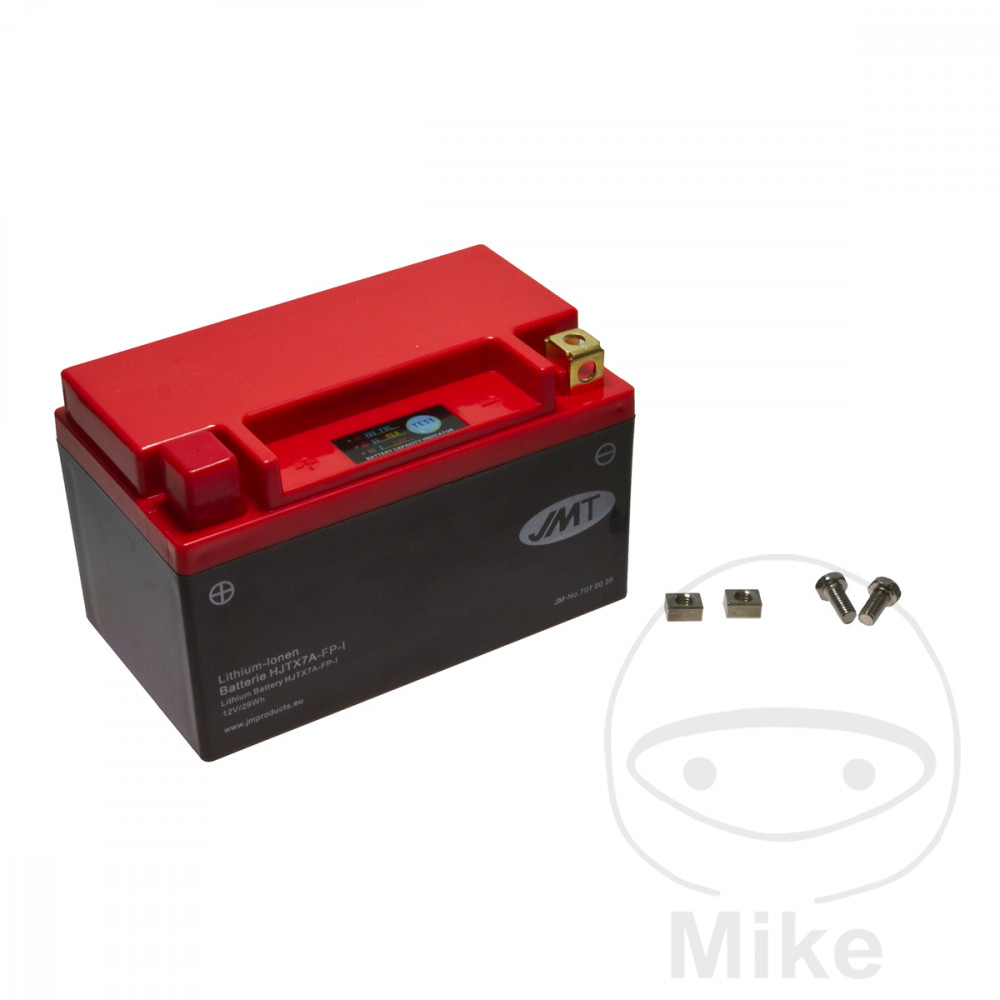 Battery Motorcycle Ytx7A-Fp JMT Lithium Ion Battery  For Masai 707.00.36