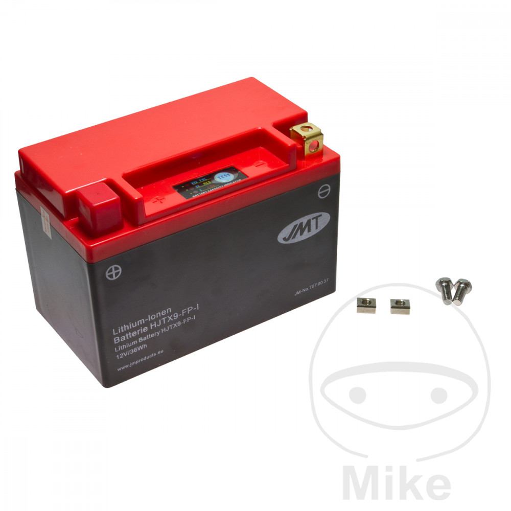 Battery Motorcycle Ytx9-Fp JMT Lithium Ion Battery  For Buffalo/Quelle 707.00.37