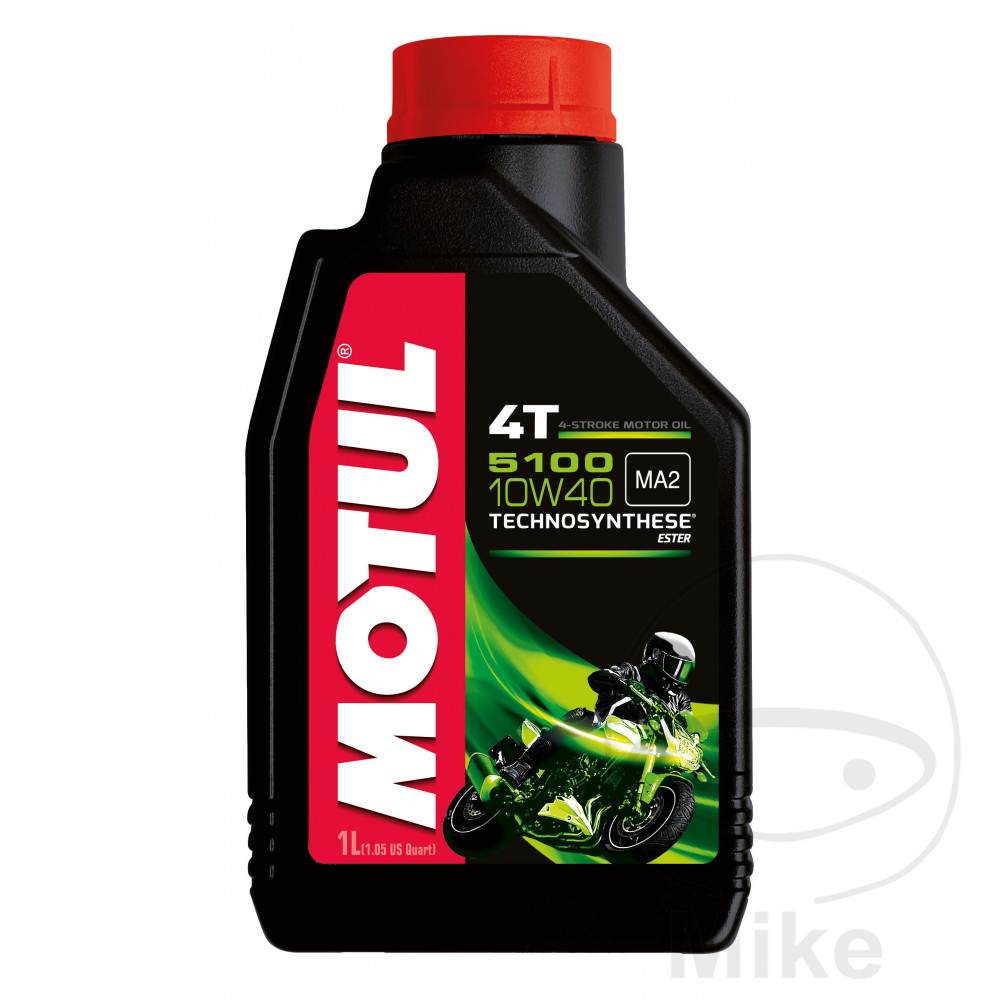 Oil 10W40 4-Stroke 1L Motul 5100 Semi-Synth  For Kymco 714.00.84