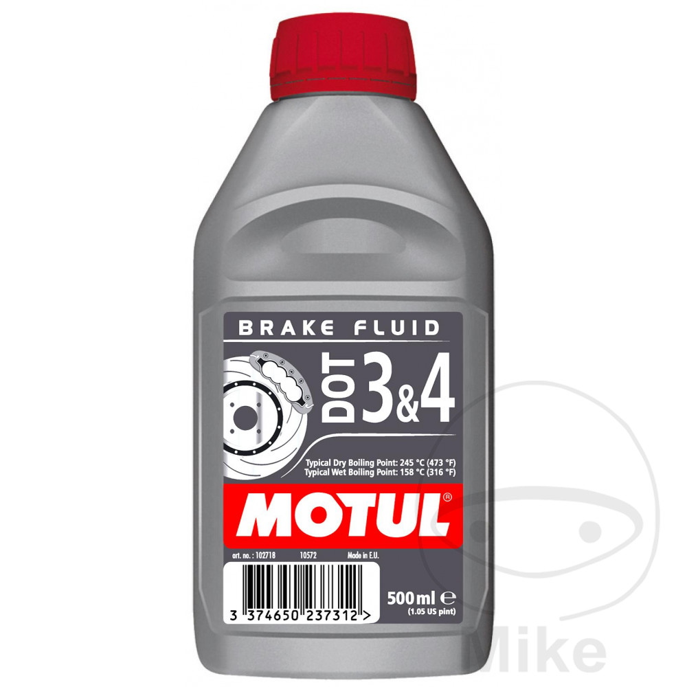 Brake Fluid Dot3/4 0.5L Motul 714.01.39