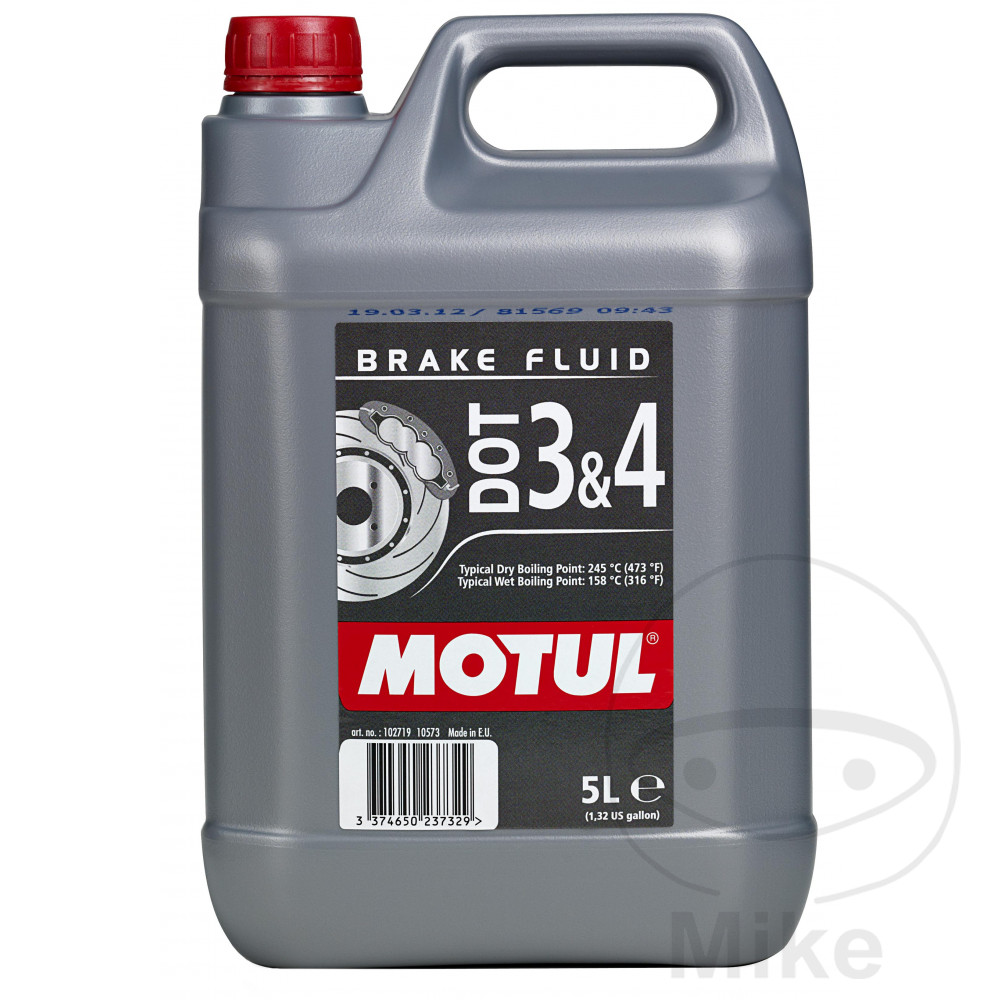 Brake Fluid Dot3/4 5L Motul 714.01.40