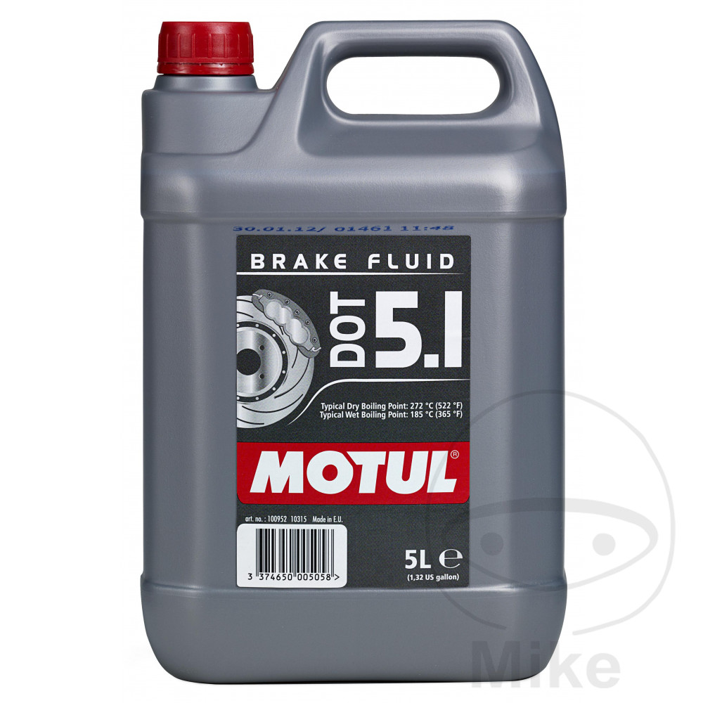 Brake Fluid Dot5.1 5L Motul 714.01.42