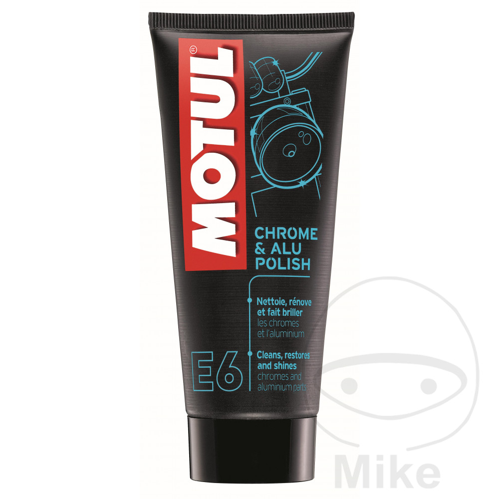 Aluminium/Chrome Polish 100Ml Motul E6 Chrome /Alu Polish 714.01.52