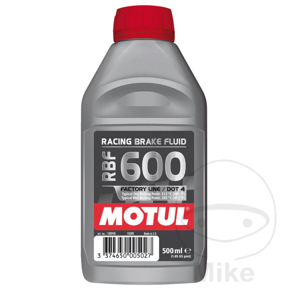 Brake Fluid Dot4 0.5L Motul Rbf 600 Racing 714.01.95