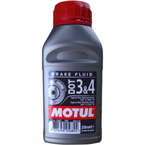 Brake Fluid Dot3/4 0.25L Motul 714.03.19