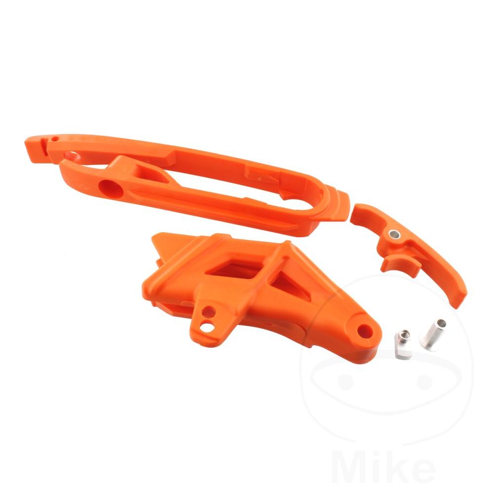 Chain Guideslider Set Orange  For KTM 716.06.69