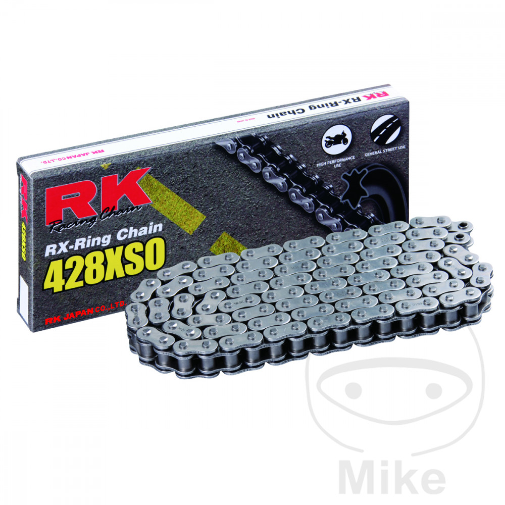 Rk X-Ring Chain Open With Spring Link 428 Xso 136 For Kreidler 725.02.38
