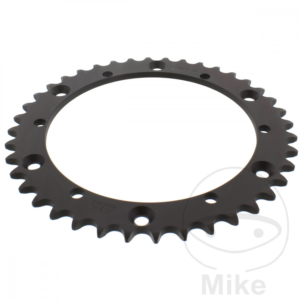 ZBK Rear Sprocket 40 Tooth Pitch 520 Black ID 152 Spacing 175  For Buffalo/Quelle 727.07.72