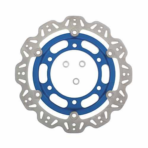 Brake Disc Front EBC Vee Rotor Blue  For Triumph 760.60.89
