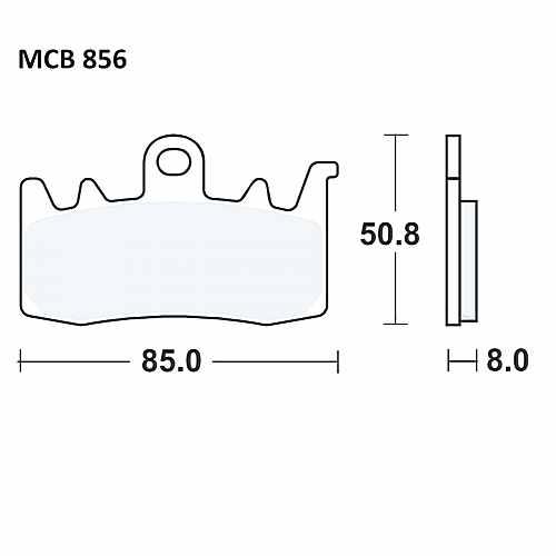 Brake Pad Carbon Crq TRW  For MV Agusta 787.01.23