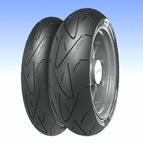 130/70Zr16 (61W)Tl Spoatt Tyre Cti Sportattack  For Honda 770.00.37
