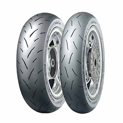 120/80-12 55Jtl Tt93 Gp Tyre Dunlop  For Suzuki 881.83.79