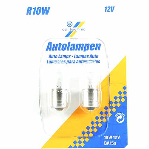 Bulb 12V10W Ba15S Ct Twin Blister Pack Prem 1597723  For Suzuki 159.35.81