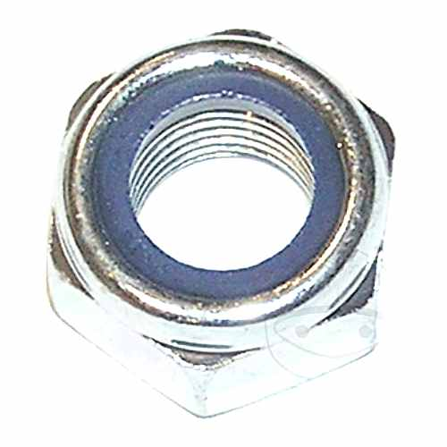 Hex Nut M8 Din985 Plated Steel Pack 6 pcs  For Yamaha 479.06.14