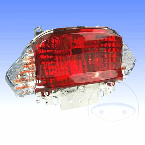 Tail Light Complete With Bulbs White Indicator  For Rex 705.77.63