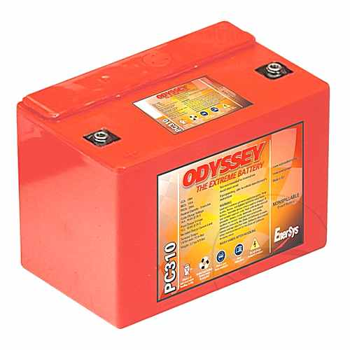 Motorcycle Battery Pc310 Hawker Odyssey Pre Filled  For MBK 707.70.50