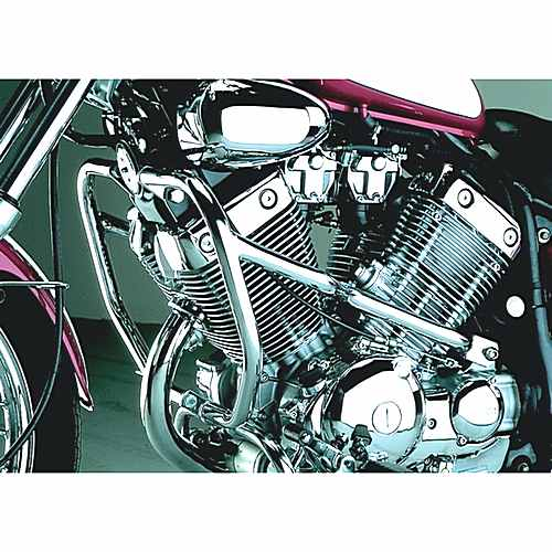 Crashbar Front 2 Piece Chrome  For Yamaha 711.49.37