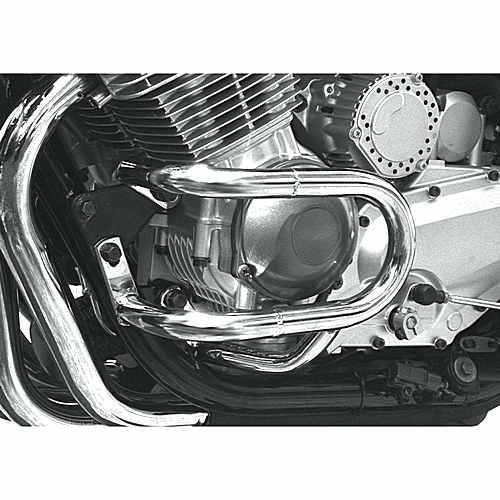 Crashbar Front 2 Piece Chrome  For Yamaha 711.70.70