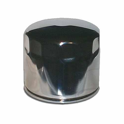 Oil Filter Chrome Hiflo  For Harley Davidson 723.12.85