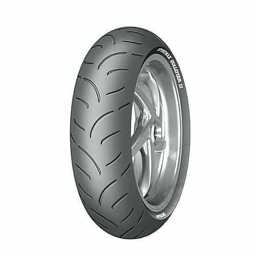 180/55Zr17 (73W)Tl Quali2 Tyre Dunlop Qualifier 2  For Ducati 880.48.23