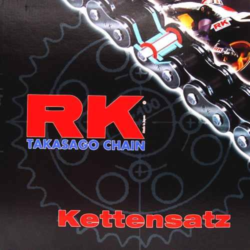 Chain Kit Aprilia Rs125 Repl 06- Rk X-Ring 520Xso Open  For Aprilia 793.02.68