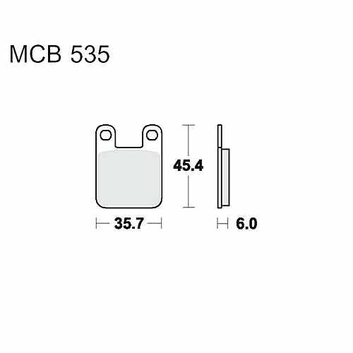 Brake Pads Standard TRW  For Peugeot 787.27.16