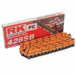 Rk Standard Chain Orange 428Sb/132 Open Chain With Spring Link For Generic 725.05.12
