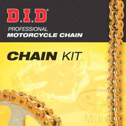 Chain Kit DID X-Ring G&B520Vx2 End  For Yamaha 749.00.00